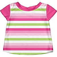 i play. Baby Girls Classic Bow Swimsuit Bottom with Built-in Swim Diaper