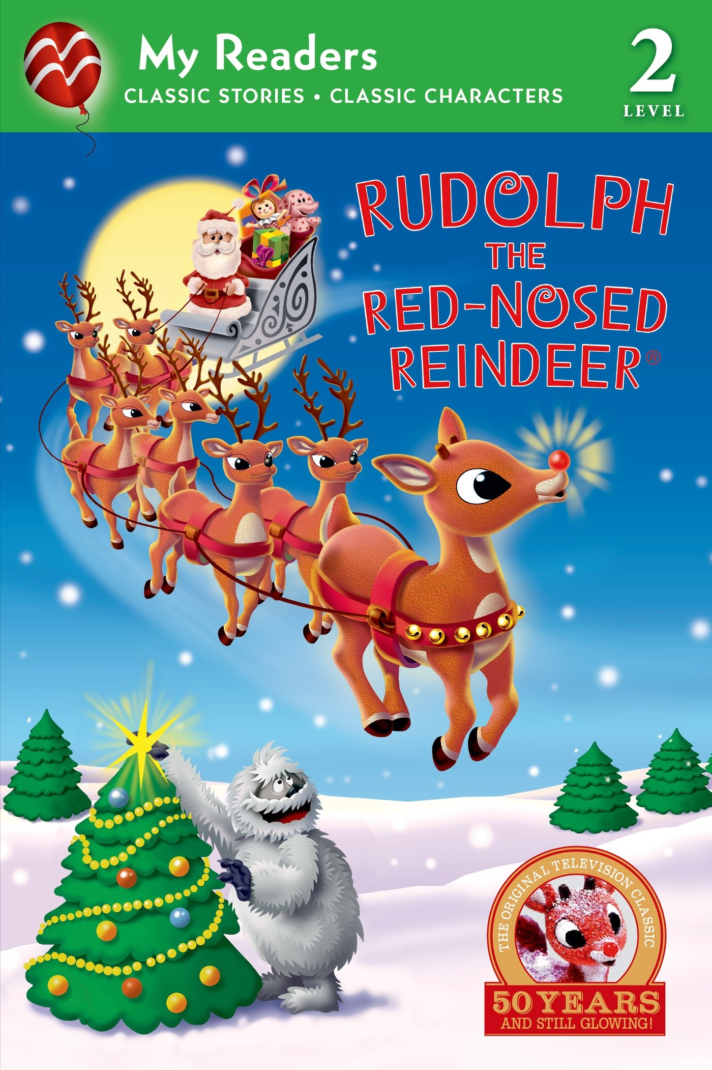 Amazon.com: Rudolph the Red-Nosed Reindeer (My Reader, Level 2) (My ...