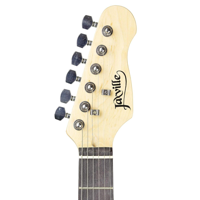 Paquete de guitarra eléctrica estilo Jaxville Reaper ST: Amazon.es: Instrumentos musicales