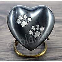 eSplanade Heart Shaped Pet Cremation urn Memorial Container Jar Pot | Brass Urns| Metal…