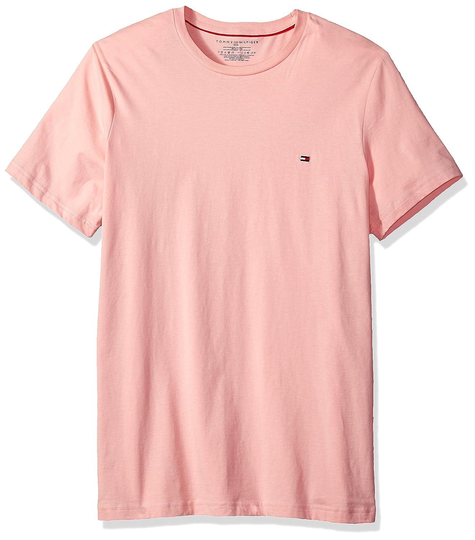 a36b0a8916cb Tommy Hilfiger Short Sleeve Crew Neck Flag T-Shirt | Amazon.com