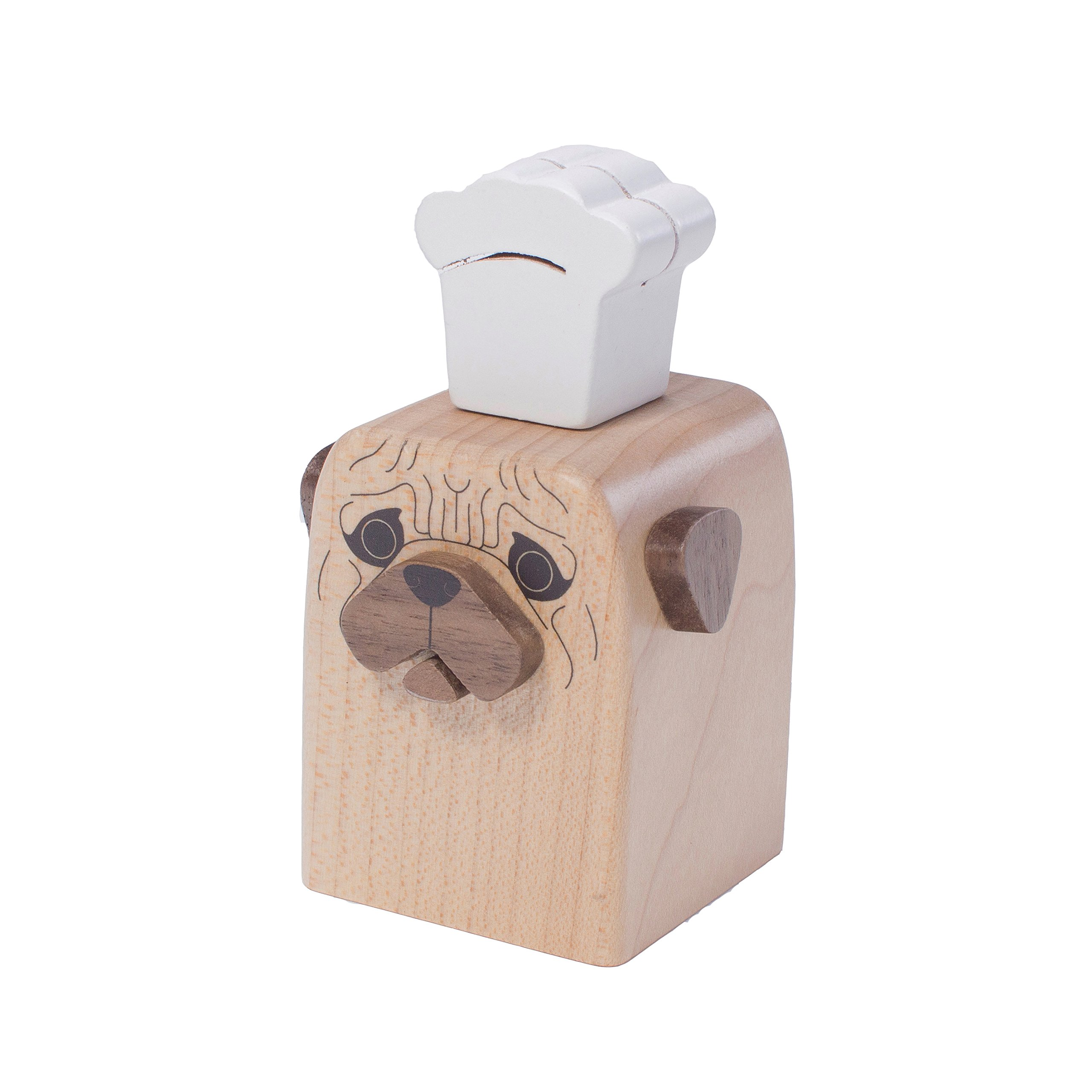 Faithful Dog designed Cruet -PUG