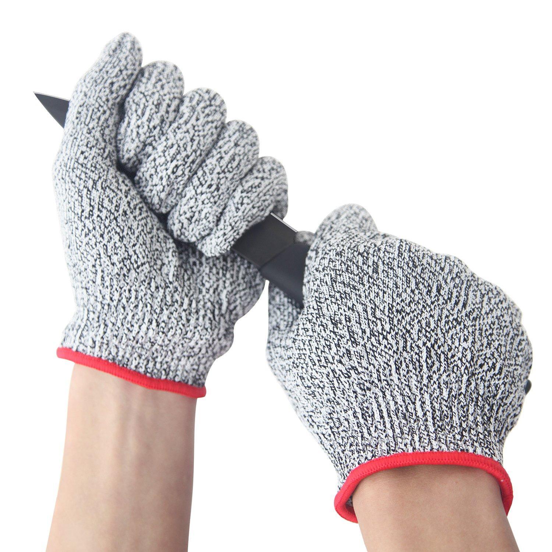 JEOutdoors 耐切創手袋 防刃 カットレベル5業務作業 食肉加工用 サイズ M B074V92NJX