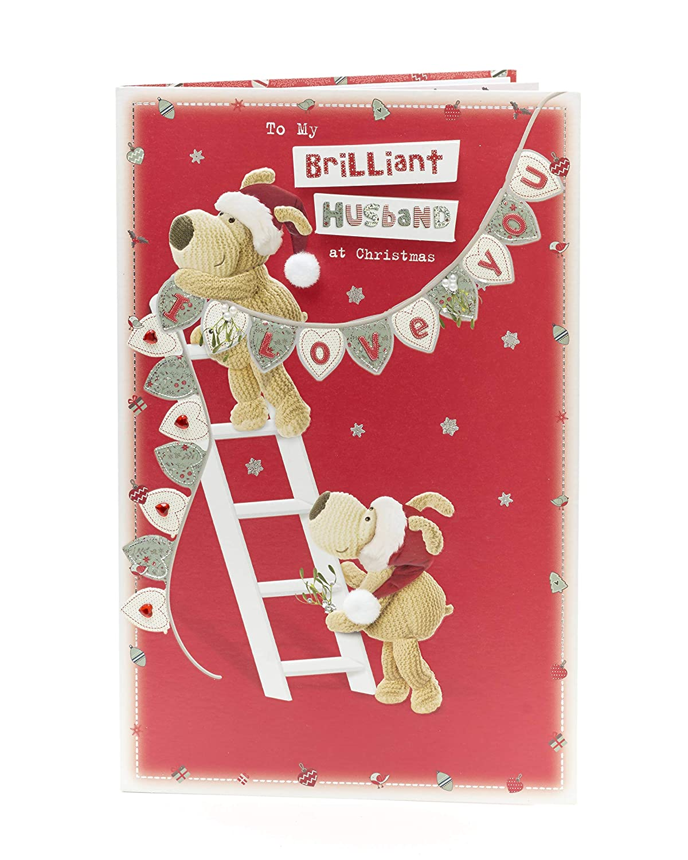 Amazon Cute Boolfe Brilliant Husband Christmas Card Office