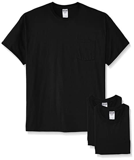 a93a95b3e24 Jerzees Men's Adult Short-Sleeve Pocket T-Shirts (3-Pack)