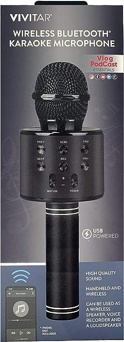 Vivitar Wireless Smart Phone Bluetooth Karaoke Microphone VIVMIC303