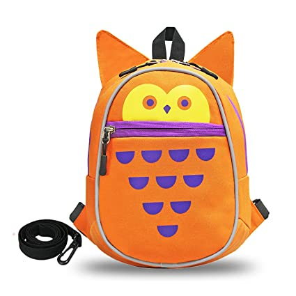 6f2c40cccd Image Unavailable. Image not available for. Color  Kids Backpack Orange Owl