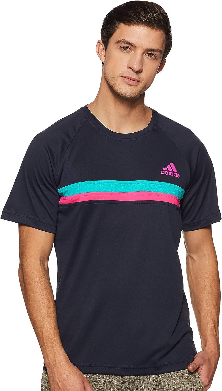 Hombre adidas Colorblock Club Camiseta