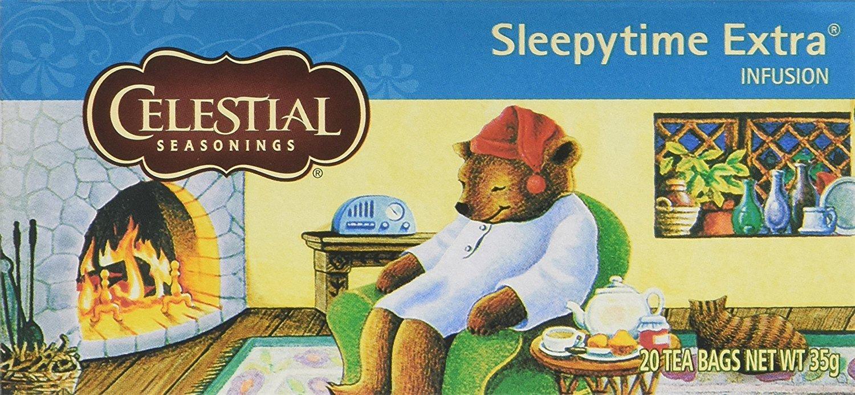 Celestial Seasonings Sleepytime Extra Wellenss 20 Teabags (Pack of 6, Total 120 Teabags)