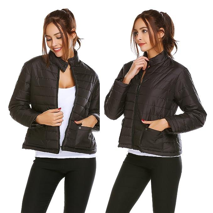 Outwear Packbar Xxxl Stehkragen Leichte Warme Jacke Mit Winterjacke Steppjacke Modfine Kurz Übergangsjacke Damen Gefüttert Ultra GrS Daunenjacke 0vNy8wmnO