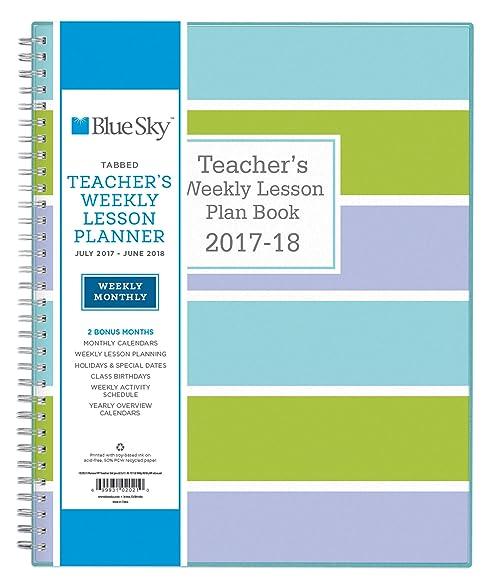 monthly lesson plan calendar