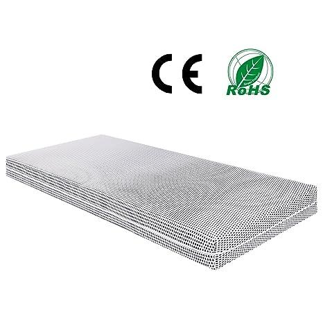 modrine colchones de 90 x 200 cm colchón de espuma fría de material respetuoso con el