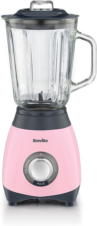Breville Pick & Mix - Licuadora (Vidrio, Acero inoxidable, Cream ...