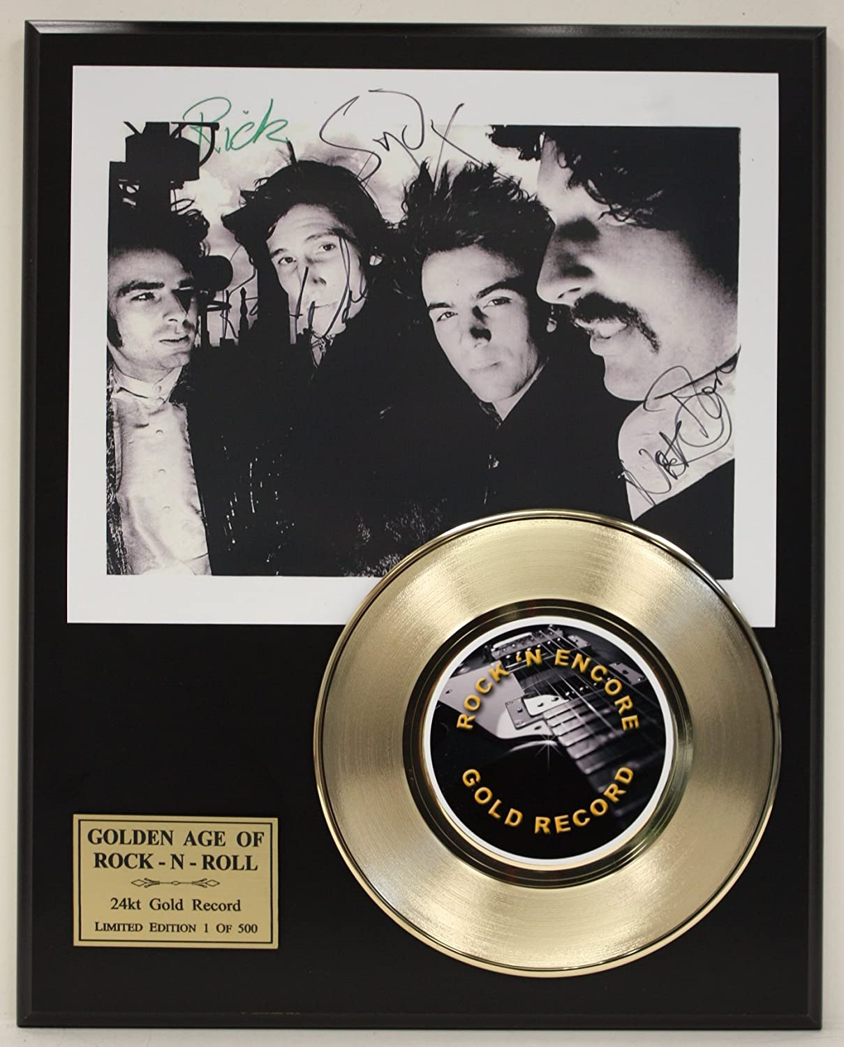 Pink Floyd Gold Record Signature Series LTD Edition Display Gold Record Outlet