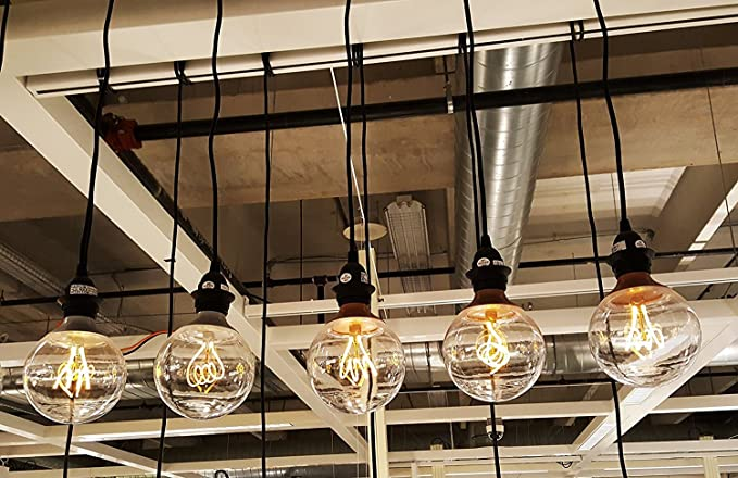IKEA Retro NITTIO Vintage Edison LED E26 Pendant LightSet 0OPk8XnNw