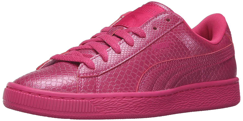 PUMA Women's Basket Future Minimal WN's Fashion Sneaker B01A82E8XE 9.5 M US|Fuchsia Purple