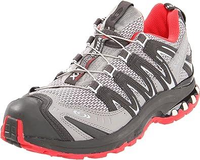 SALOMON XA Pro 3D Ultra 2 Zapatilla de Trail Running Señora, Gris/Rojo, 40 2/3: Amazon.es: Zapatos y complementos