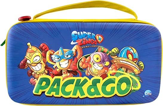 Cife Estuche de Viaje SUPERZINGS 2020: Amazon.es: Juguetes y juegos
