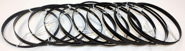 5 x Premium Sägeband 1425 mm x 6 mm x 0,36 mm x 6 Zä.p.Zoll für versch.Holzarten