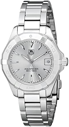 Image Unavailable. Image not available for. Color  TAG Heuer Women s   300  Aquaracer Swiss Quartz Stainless Steel Casual Watch ... 07f35cfb1cd
