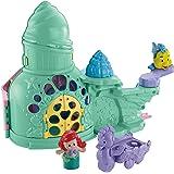 Disney Fisher-Price Little People Disney Ariel Castle Playset (Multi-Colour)