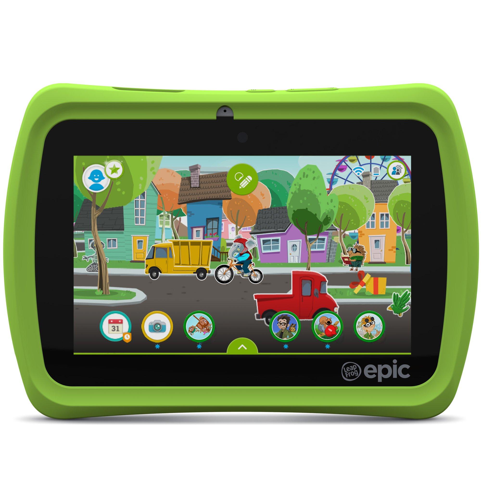 LeapFrog Epic 7'' Android-based Kids Tablet 16GB, Green