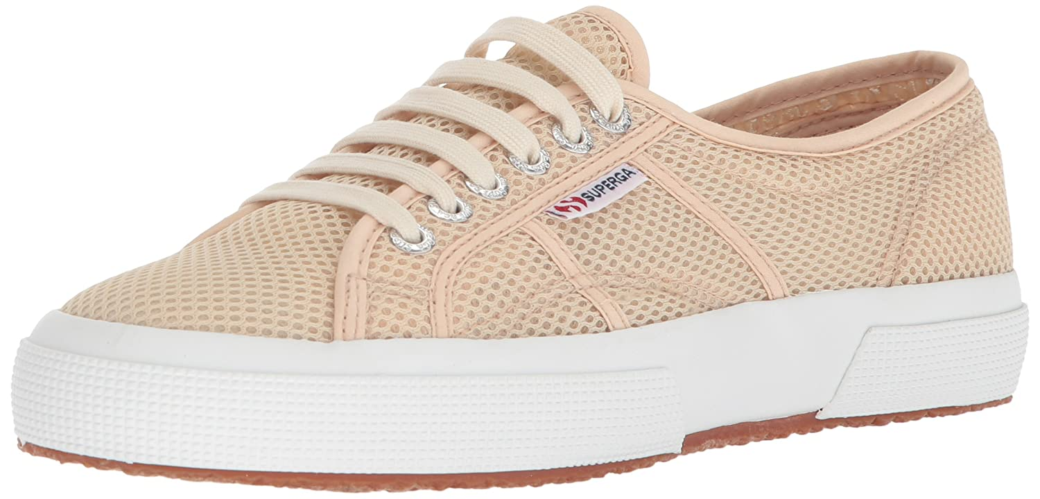 Superga Women's 2750 Meshu Sneaker B0777P3MD9 37 M EU (6.5 US)|Natural