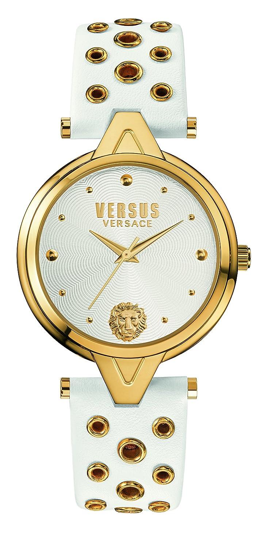Versus  Damen -Armbanduhr  Analog  Quarz Leder SCI040016