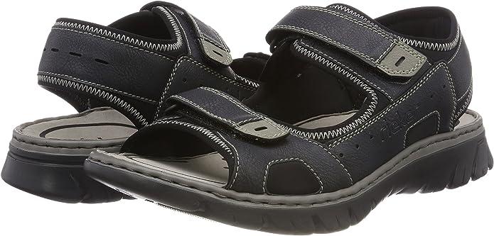 Sandals RIEKER 62821 14 Blau
