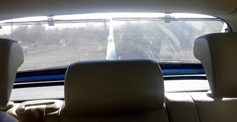 Cortina enrollable luneta posterior 47x45 cm, cristales fijos (ancho 2 uds. = 94 cm) Cortinas DESOL SL