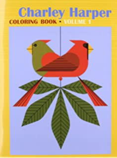 Charley Harper Coloring Book: Charley Harper: 9781934429235: Amazon ...