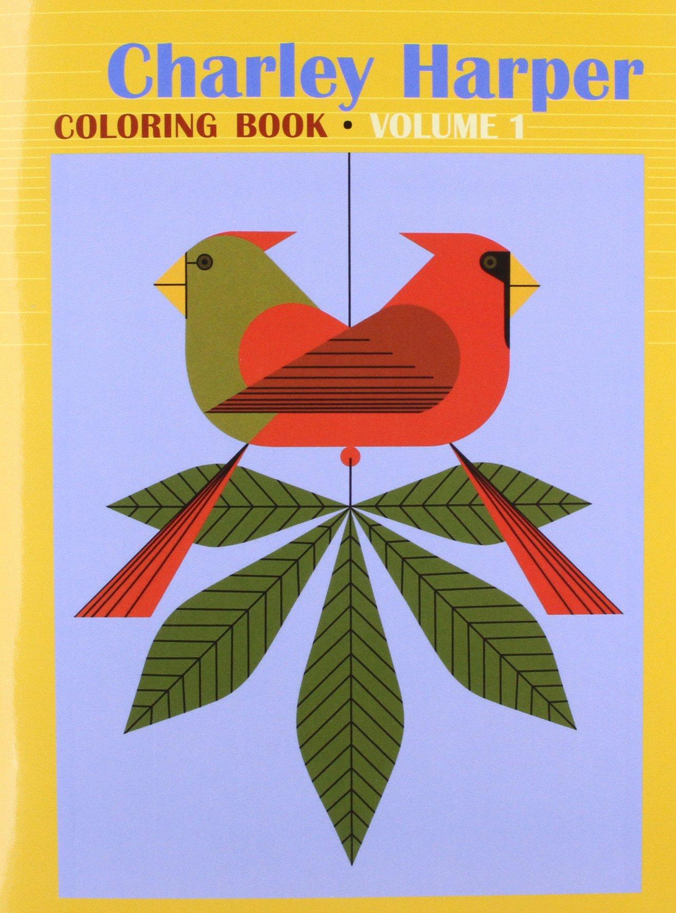 Charley Harper Coloring Book, Vol. 1: Charley Harper ...