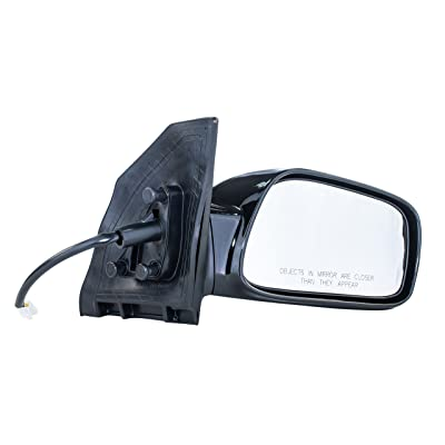 Passenger Side Mirror for Toyota Corolla LE, S (2003 2004 2005 2006 2007 2008) Non-Heated Non-Folding Power Adjusting Right Rear View Replacement Door Mirror - TO1321179: Automotive [5Bkhe0808614]