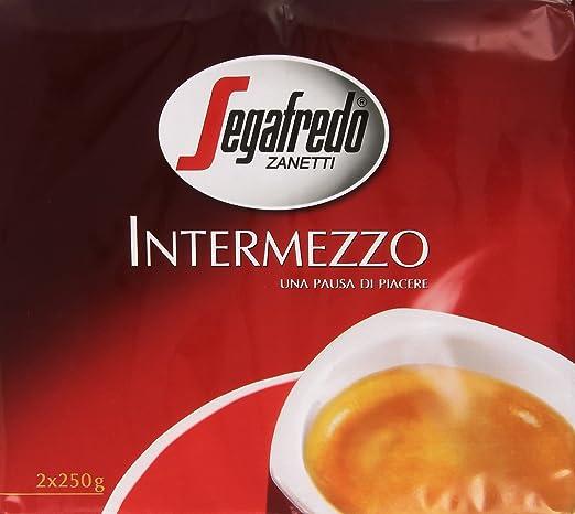 4 opinioni per Segafredo- Intermezzo, Miscela di Caffè tostato e Macinato- 500 g