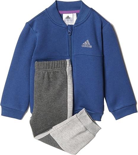 Adidas AY6018 - Chándal para niño Morado morado 6-9 Meses: Amazon ...