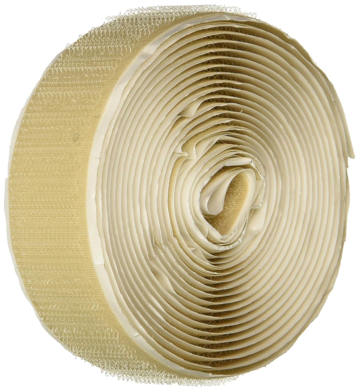 MJ May 1223-FR-PB//B-10 Velcro Brand Hook and Loop Combination Pack Flame Retardant 10 Length Beige 3//4 Wide Plain Back