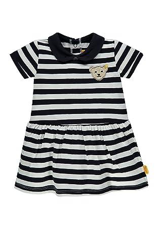 a20f861281571 Steiff Steiff Baby-Mädchen Kleid 6833208 Blau (Marine 3032)