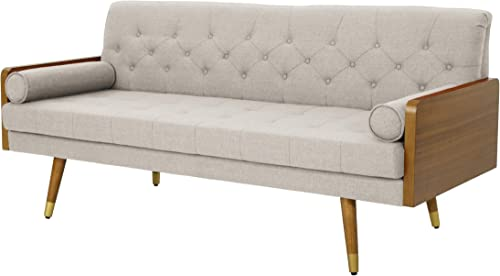 Christopher Knight Home Jalon Tufted Fabric Sofa