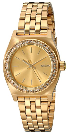 Nixon A3991520 - Reloj de pulsera Mujer, Acero inoxidable, color Oro