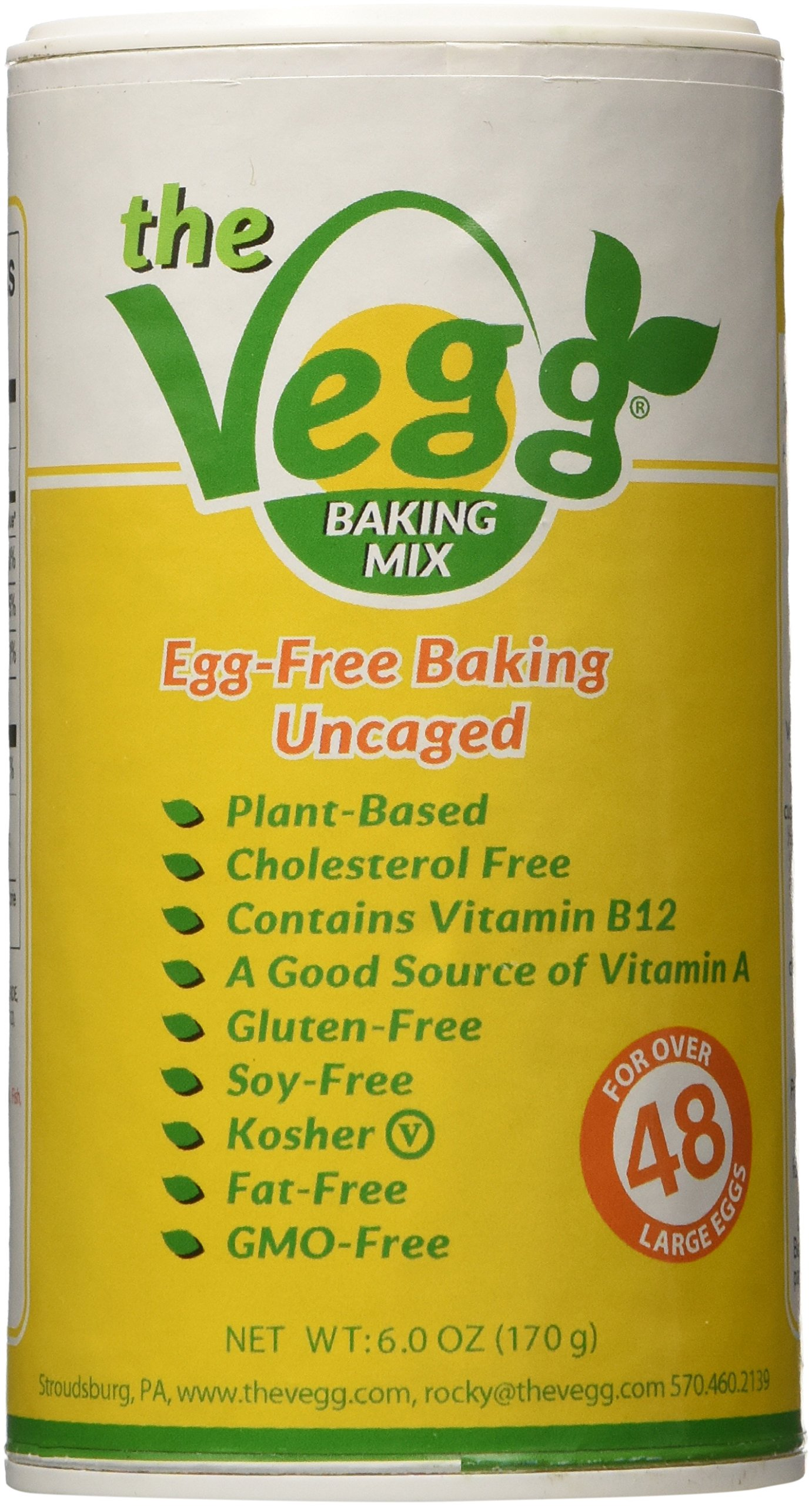 The Vegg - Vegan Egg Baking Mix - 6.0 Oz (Make Over 48 Large Eggs)