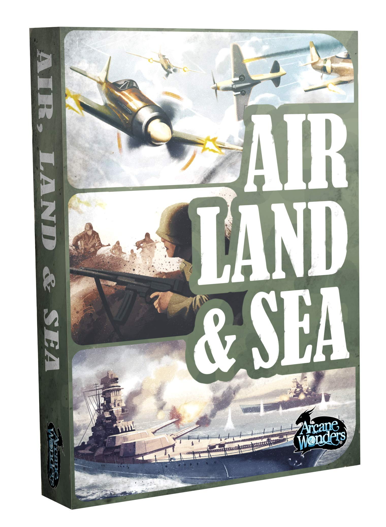 Air, Land, & Sea by Arcane Wonders