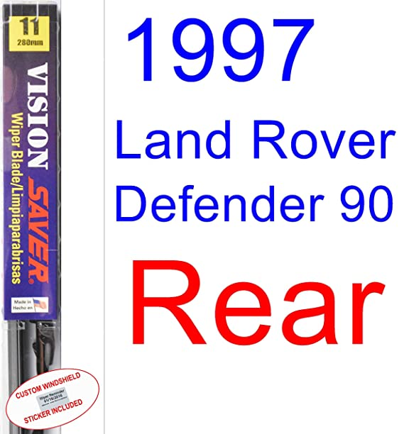 Amazon.com: 1997 Land Rover Defender 90 Replacement Wiper Blade Set ...