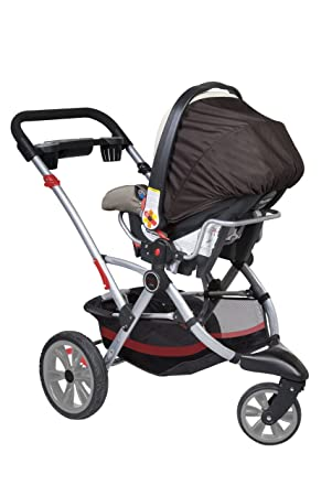 Amazon.com : Contours Options 3 Wheeler Stroller II, Cinnamon ...