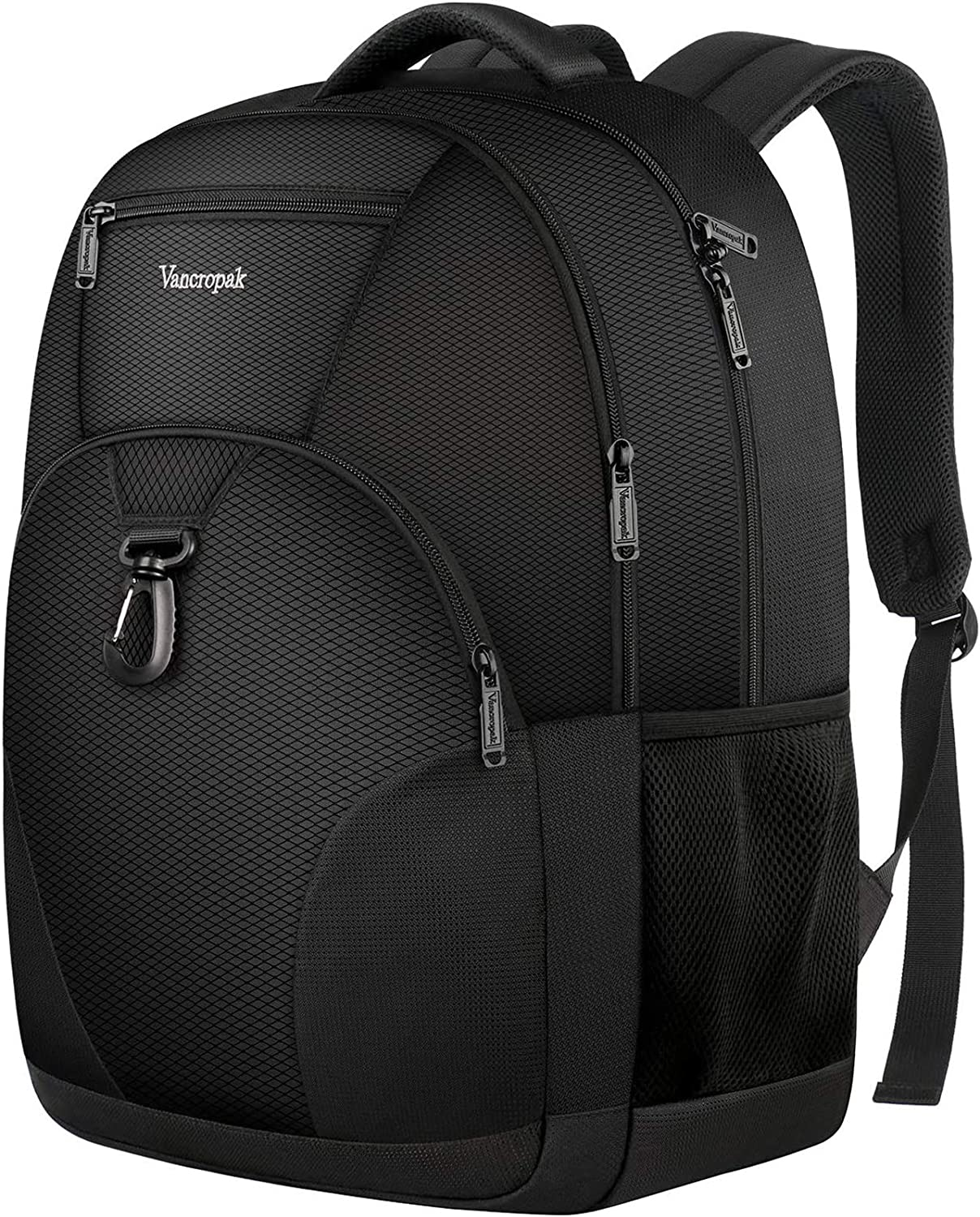 Vancropak Sport Laptop Backpack For Men Women, Large School Backpacks For Teenagers College Students,Back To School Backpacks Casual Daypack Bookbag Lightweight Bag For 17 Inch Notebook