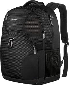 Vancropak Sport Laptop Backpack For Men Women, Large School Backpacks For Teenagers College Students,Back To School Backpacks Casual Daypack Bookbag Lightweight Bag For 17 Inch Notebook