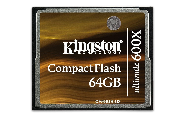 Kingston CF/16GB-U2 Carte CompactFlash Ultimate 266x - 16 Go Carte mémoire