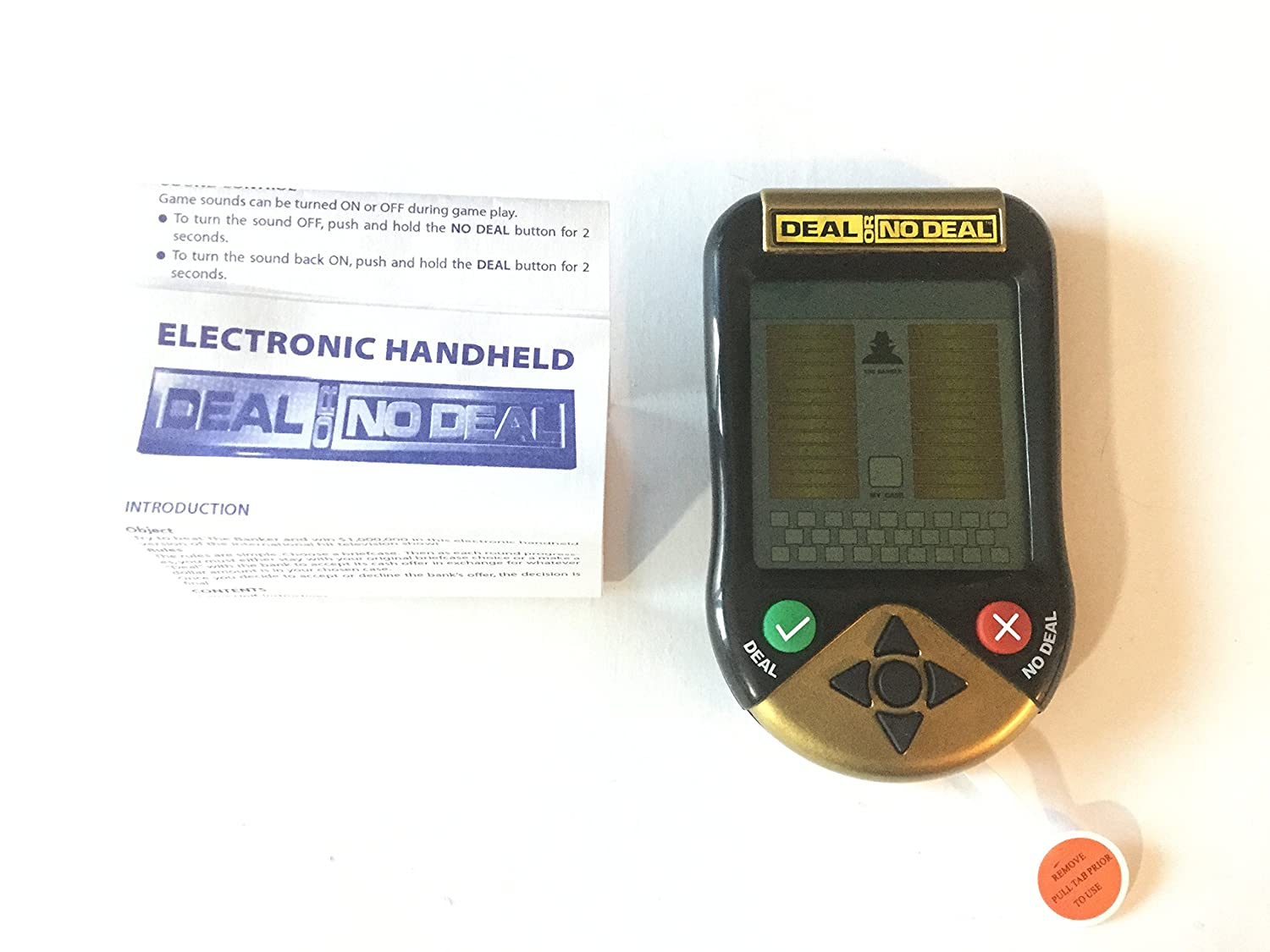 Deal Or No Deal Electronic Handheld Game B000EYF818