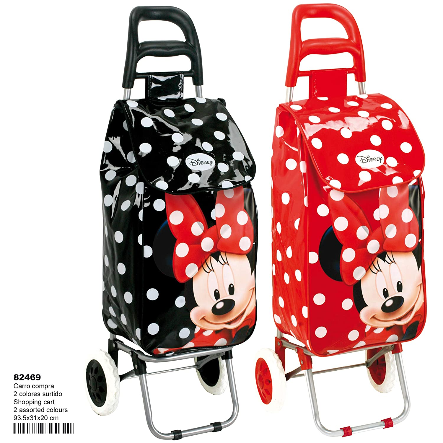 Montichelvo Montichelvo Shopping Cart MN 2 Cols. (23813) Bolsa Escolar, 93 cm, (Multicolour): Amazon.es: Equipaje