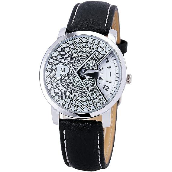 2015 unique cool cómodo ocio creativo hombres mujeres Unisex cuarzo reloj de pulsera correa de piel + caja: PAIDU: Amazon.es: Relojes