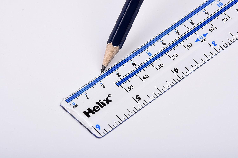 Helix Lineal transparent 15 cm